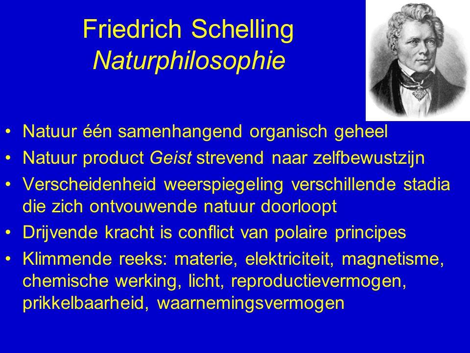 Friedrich Schelling Naturphilosophie