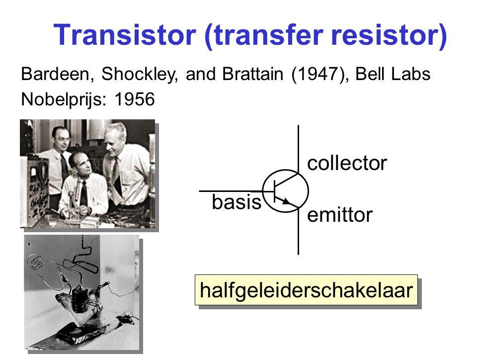 Transistor (transfer resistor)