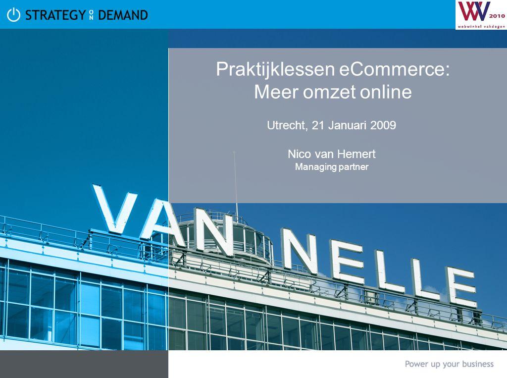 Praktijklessen eCommerce: Meer omzet online