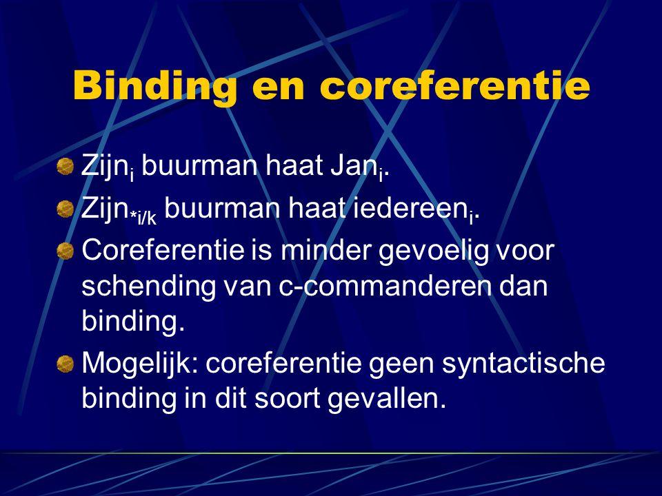 Binding en coreferentie