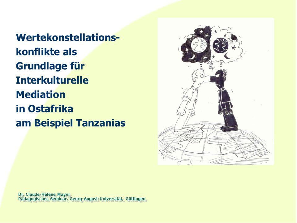 Wertekonstellations- konflikte als Grundlage für Interkulturelle