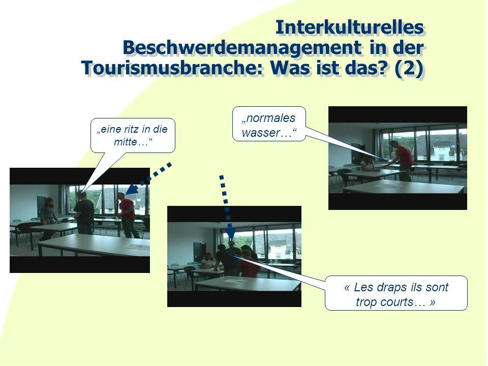 Interkulturelles Beschwerdemanagement in der Tourismusbranche: Was ist das (2)