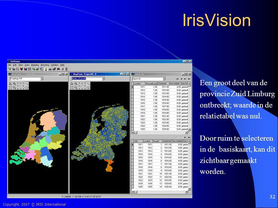 IrisVision Een groot deel van de provincie Zuid Limburg