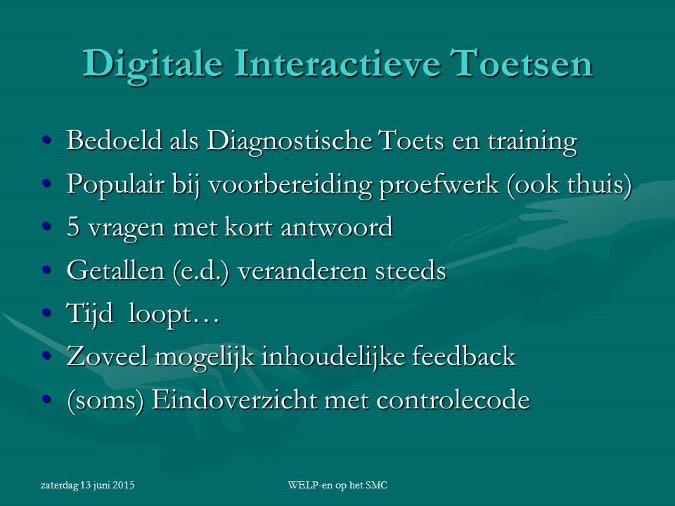 Digitale Interactieve Toetsen
