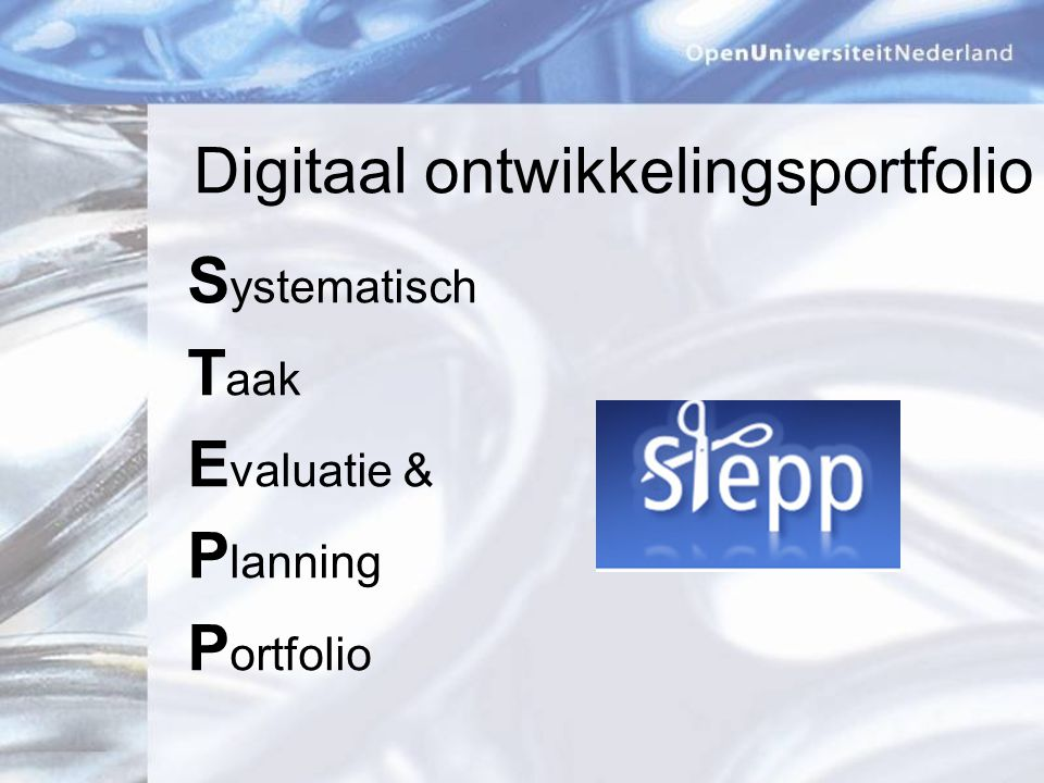 Digitaal ontwikkelingsportfolio