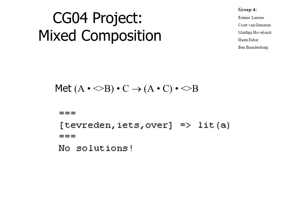 CG04 Project: Mixed Composition