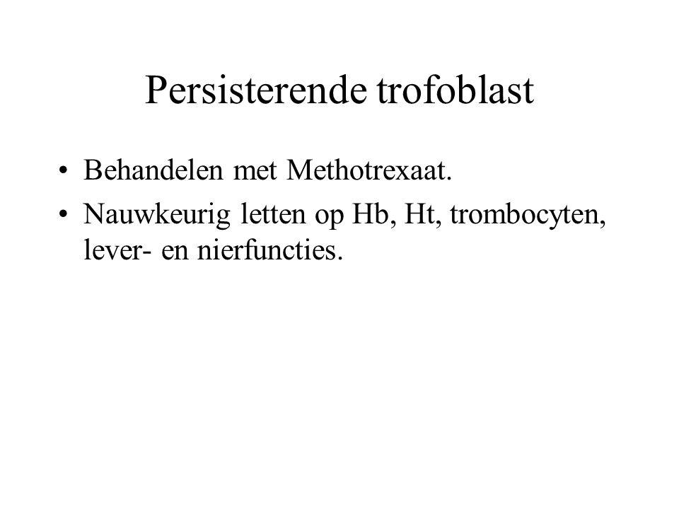 Persisterende trofoblast