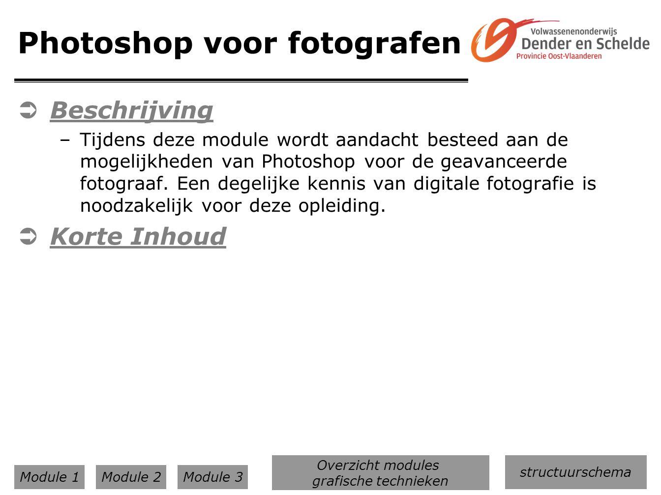 Photoshop voor fotografen