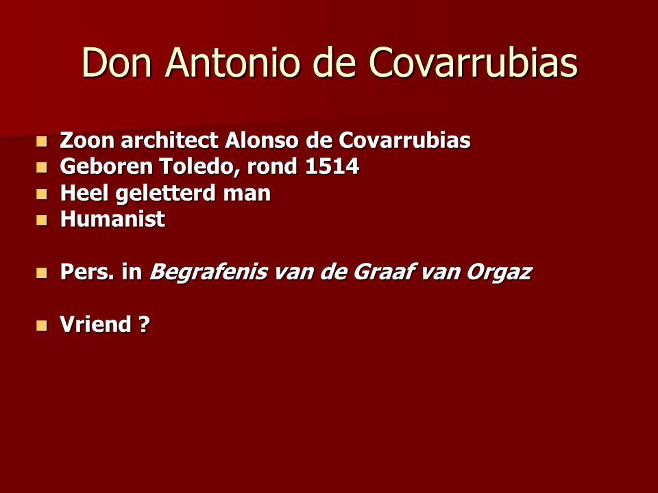 Don Antonio de Covarrubias