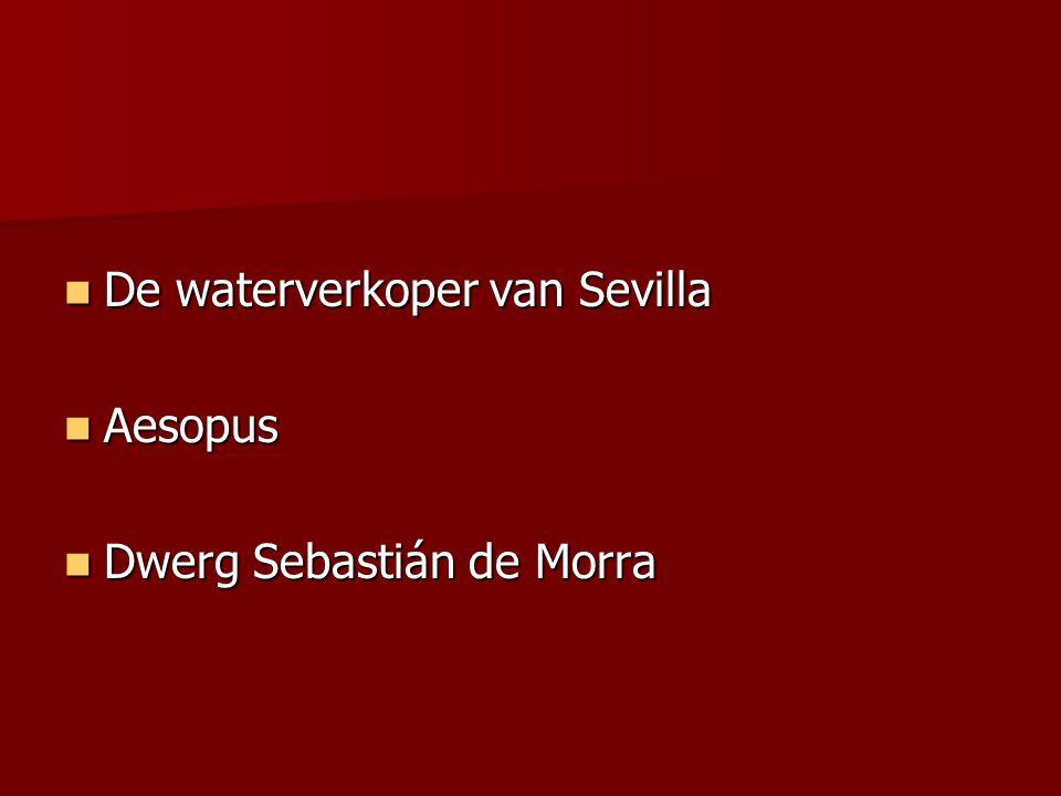 De waterverkoper van Sevilla