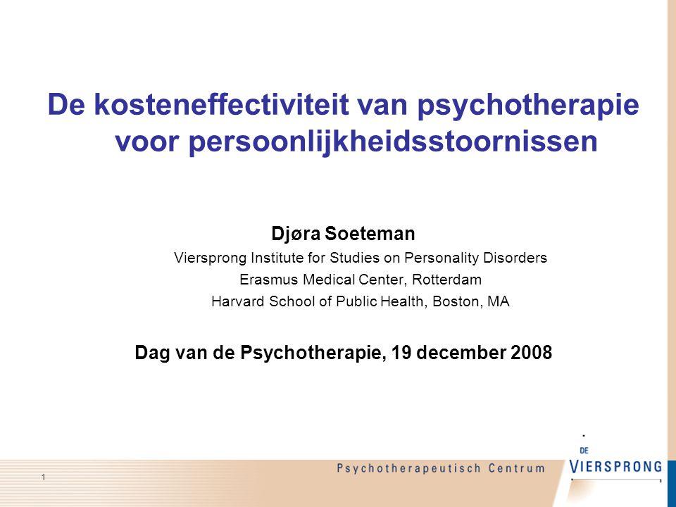 Dag van de Psychotherapie, 19 december 2008