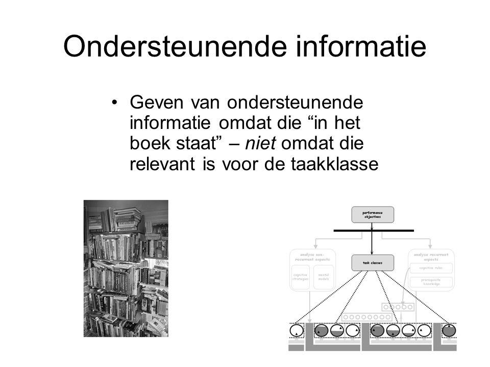 Ondersteunende informatie