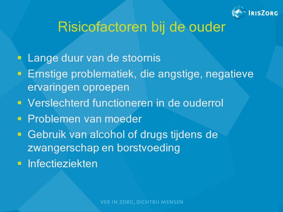 Risicofactoren bij de ouder
