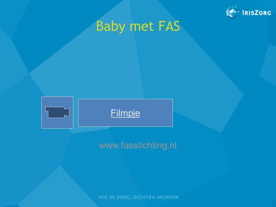 Baby met FAS Filmpje Lars www.fasstichting.nl