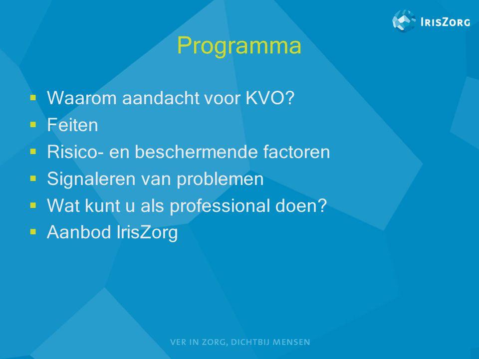 Programma Waarom aandacht voor KVO Feiten
