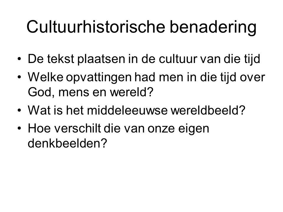 Cultuurhistorische benadering
