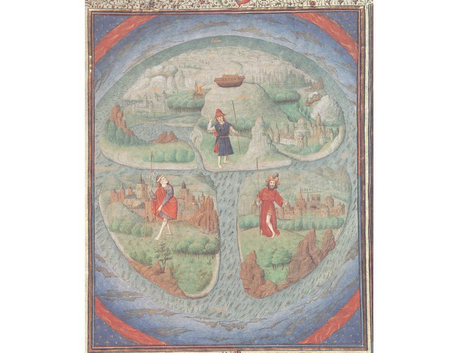 Uit de drie zonen van Noach is de wereld bevolkt