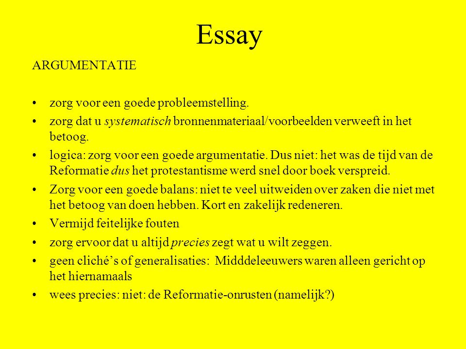 een essay An essay is, generally, a piece of writing that gives the author's own argument — but the definition is vague, overlapping with those of a paper, an article, .