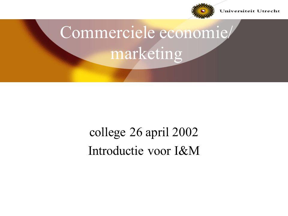 Commerciele economie/ marketing
