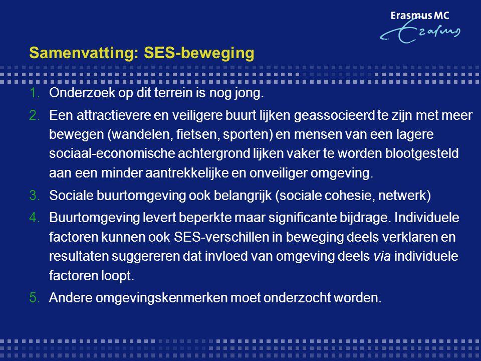 Samenvatting: SES-beweging