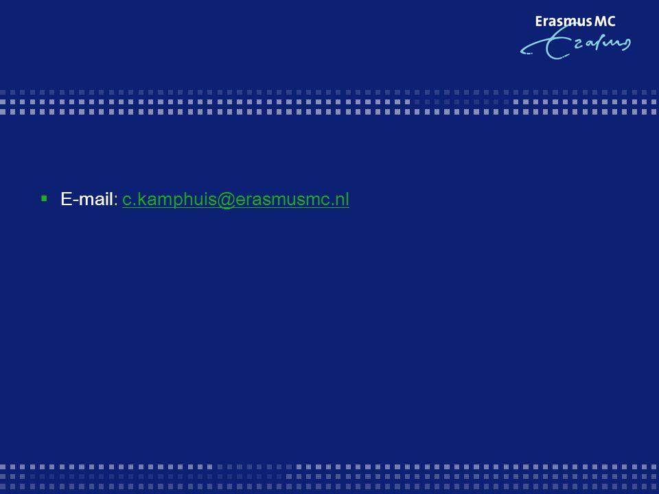 E-mail: c.kamphuis@erasmusmc.nl