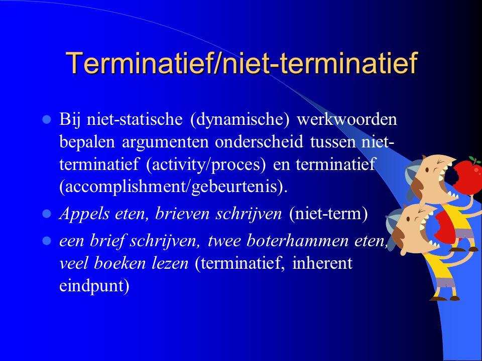Terminatief/niet-terminatief