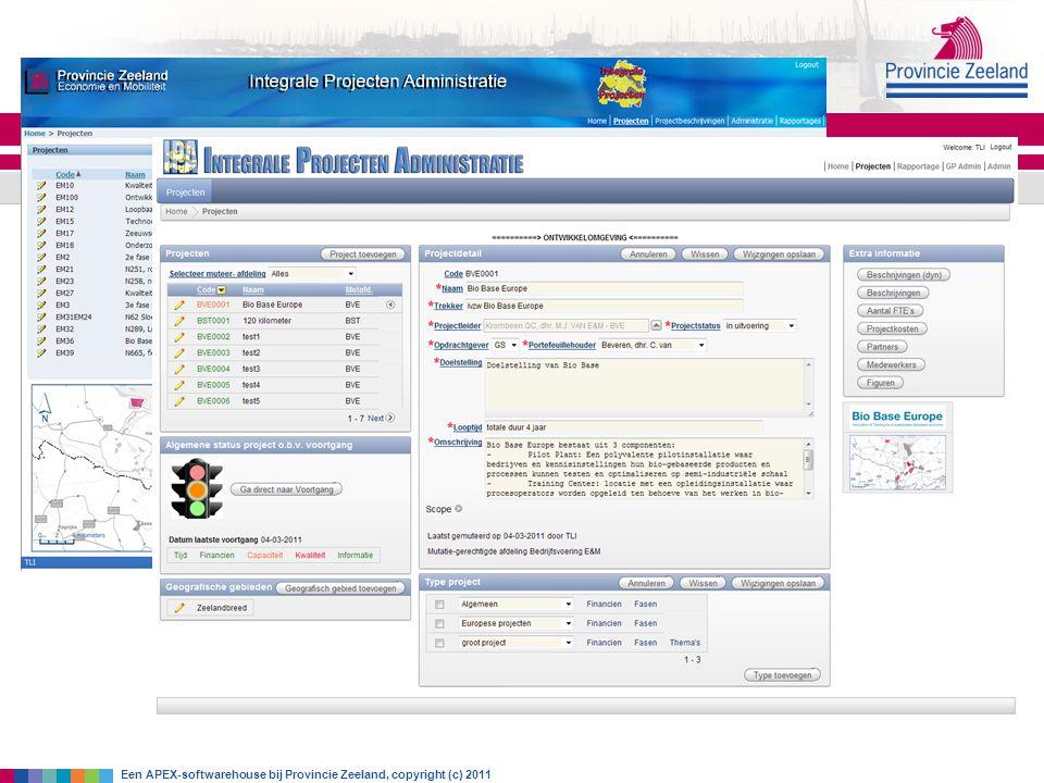 Gebruik APEX Eerste ervaringen met HTMLDB 2.0 (dynamisch opbouwen parameterscherm voor. Reports vanuit Headstart-tabellen)