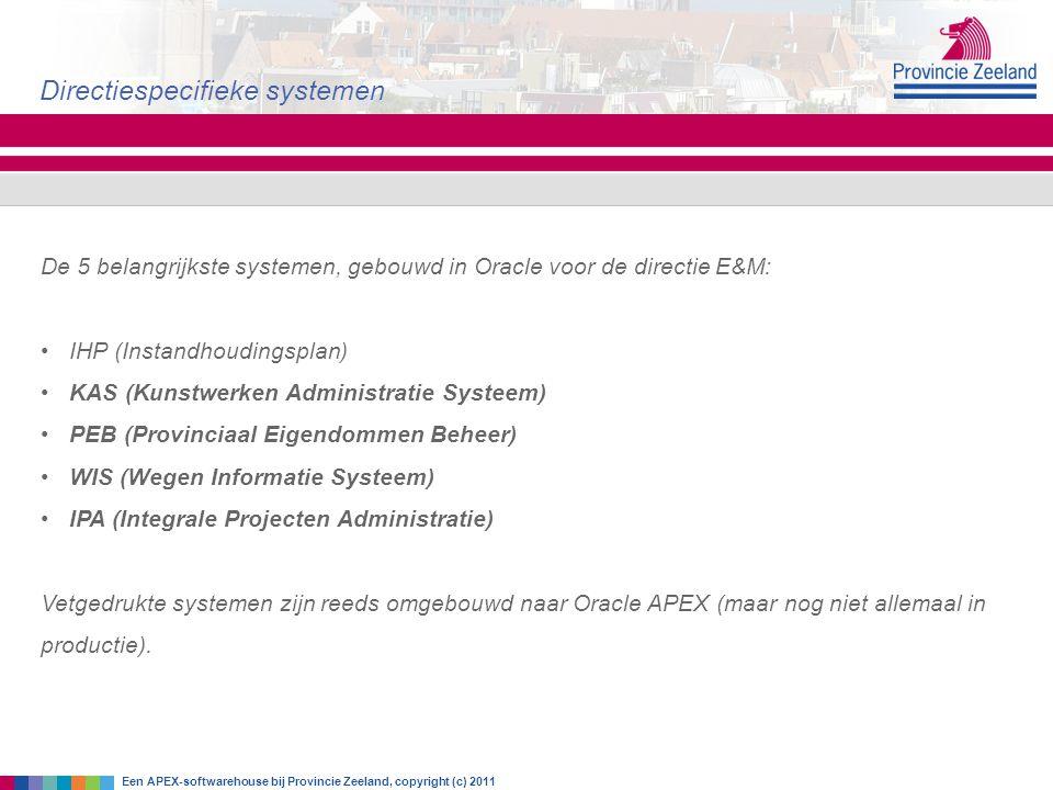 Directiespecifieke systemen
