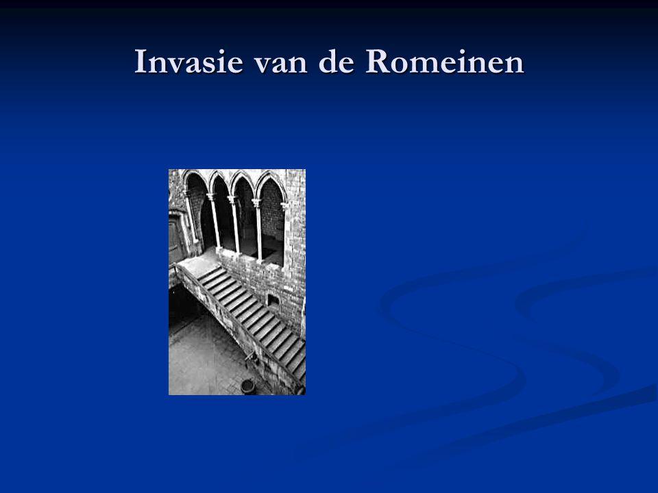 Invasie van de Romeinen