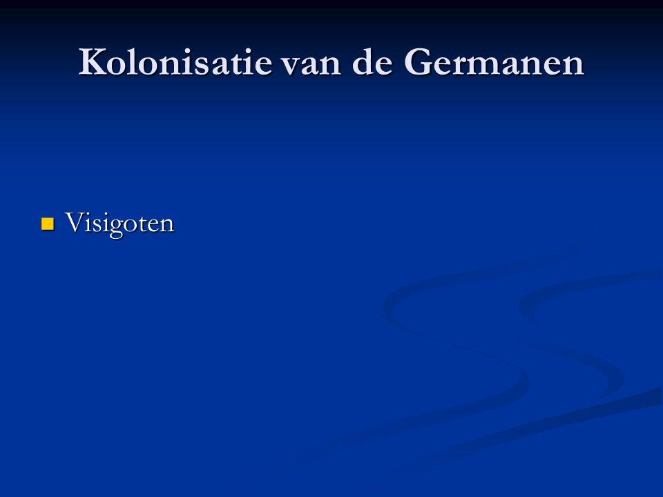 Kolonisatie van de Germanen