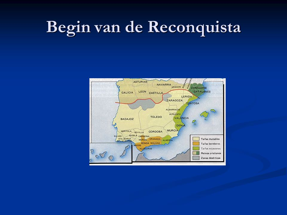 Begin van de Reconquista