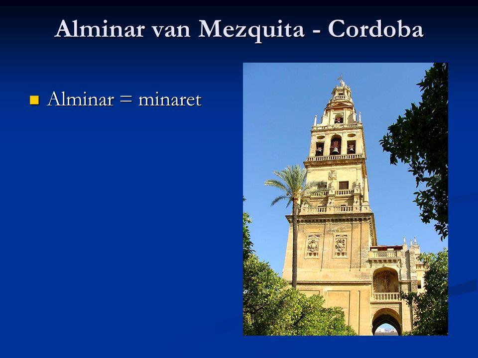 Alminar van Mezquita - Cordoba