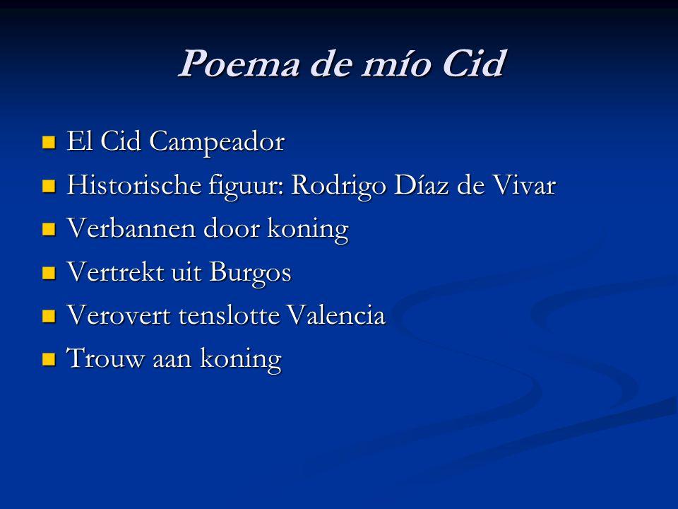 Poema de mío Cid El Cid Campeador