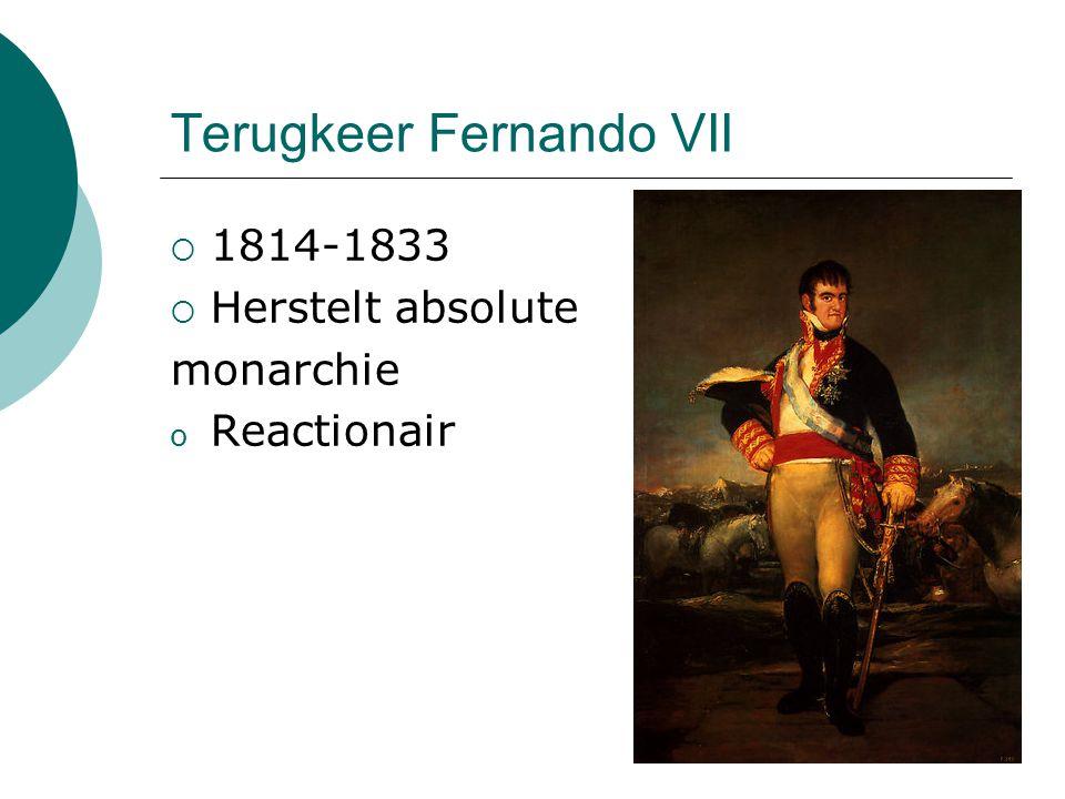 Terugkeer Fernando VII