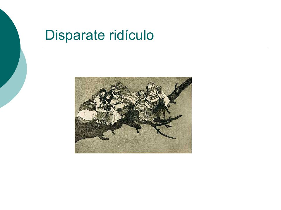 Disparate ridículo