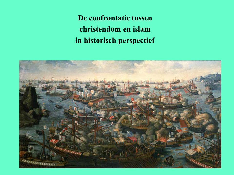 De confrontatie tussen christendom en islam in historisch perspectief