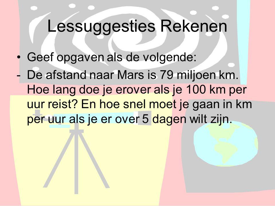 Lessuggesties Rekenen