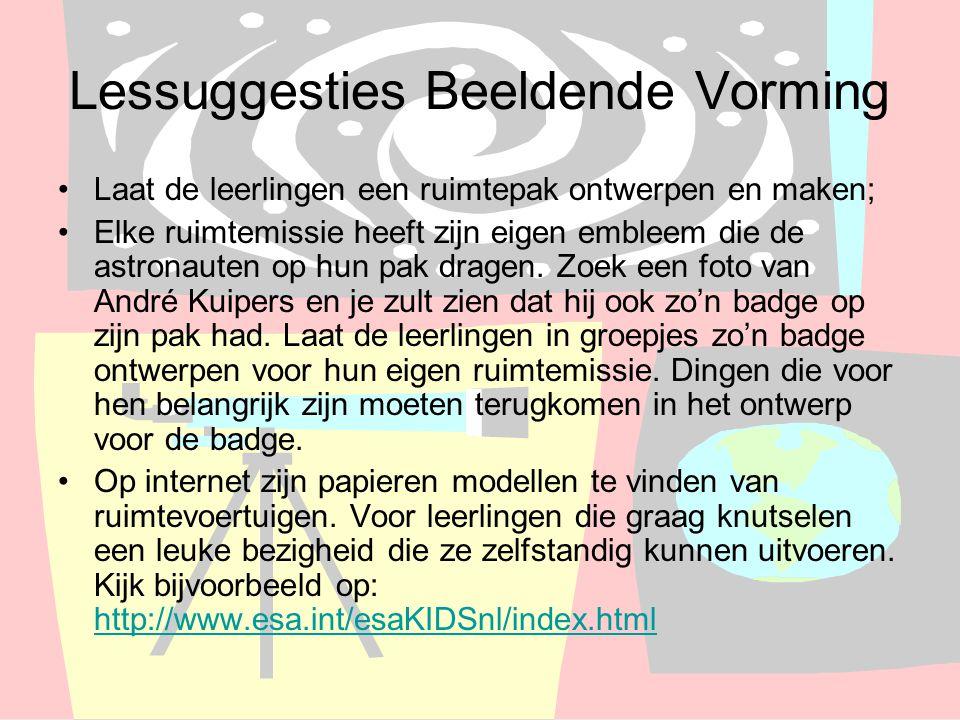 Lessuggesties Beeldende Vorming