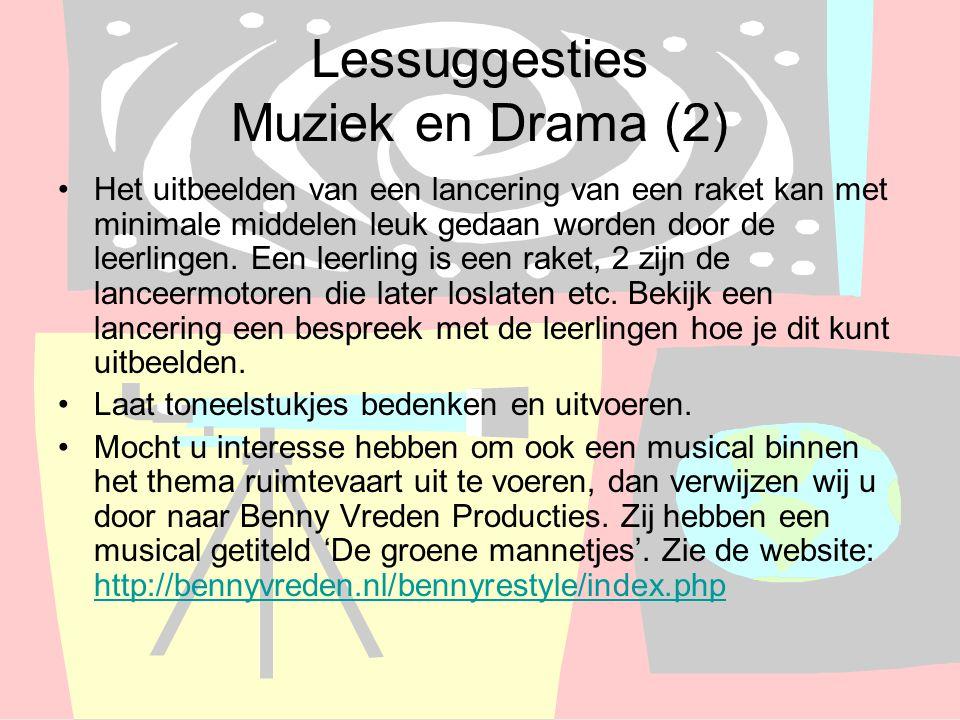 Lessuggesties Muziek en Drama (2)