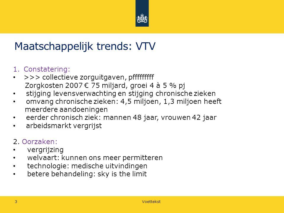 Maatschappelijk trends: VTV
