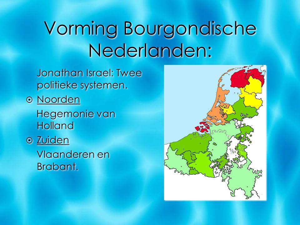 Vorming Bourgondische Nederlanden: