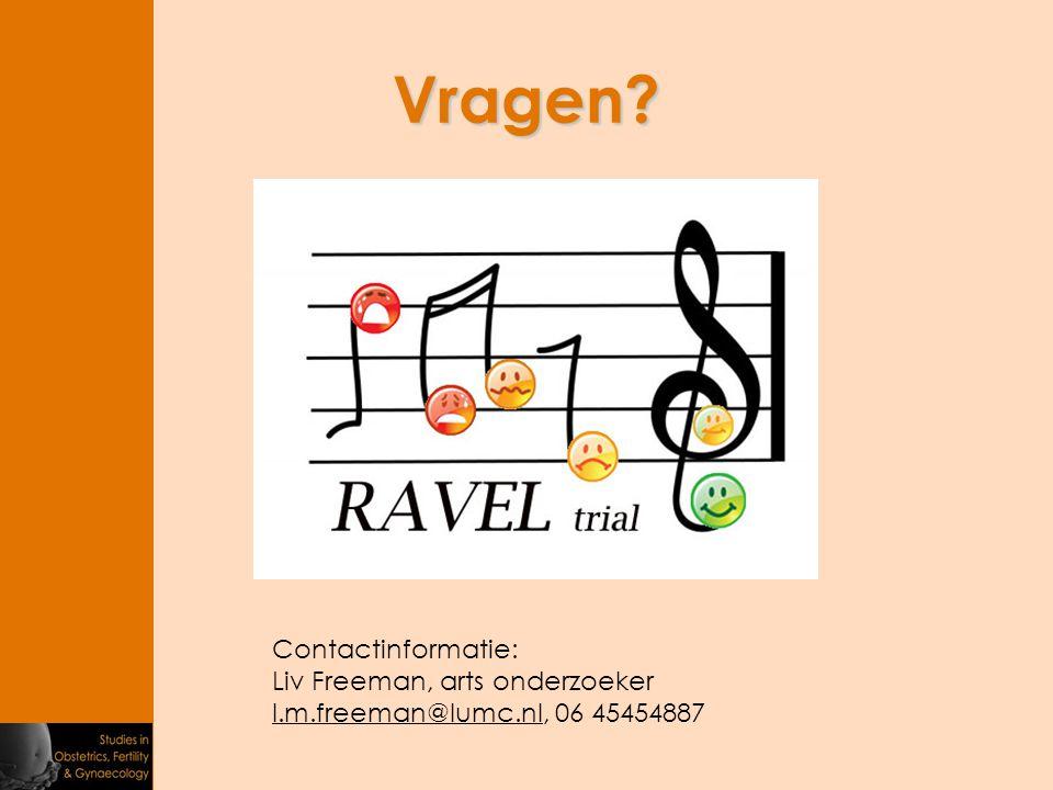Vragen Contactinformatie: Liv Freeman, arts onderzoeker l.m.freeman@lumc.nl, 06 45454887