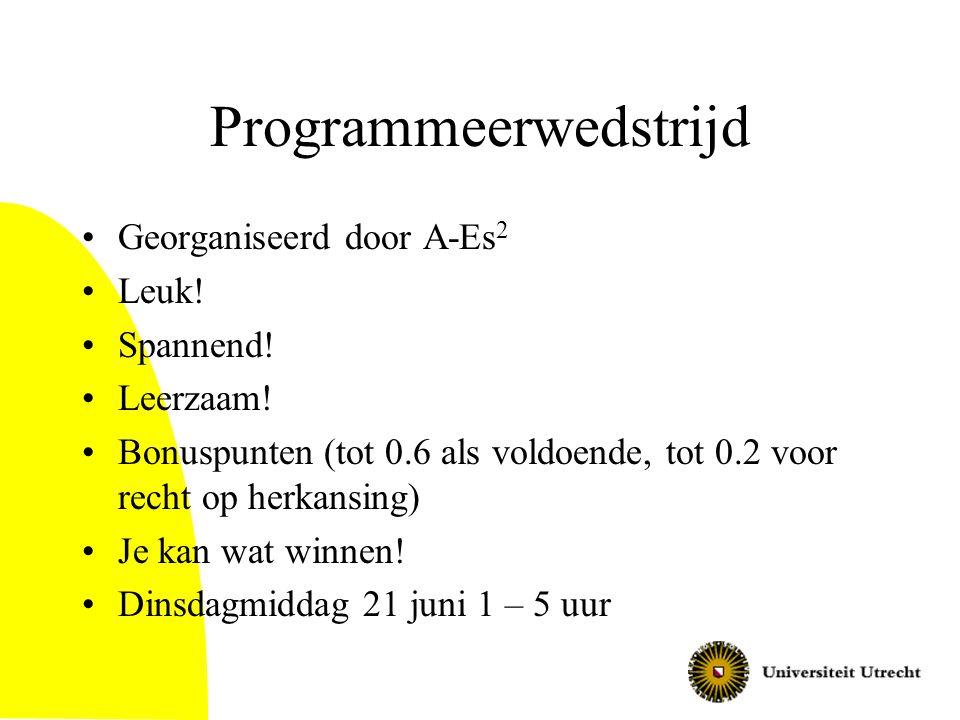 Programmeerwedstrijd