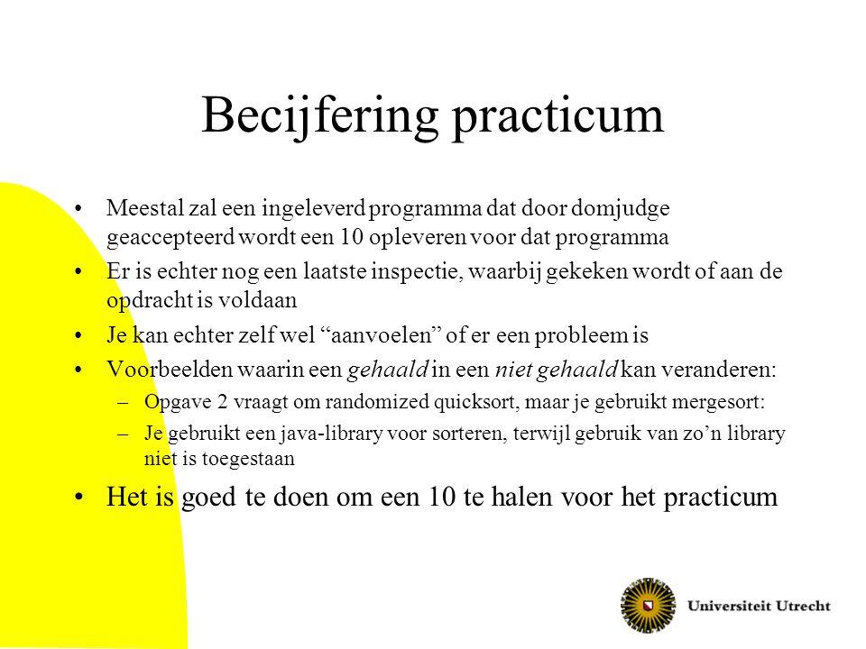 Becijfering practicum