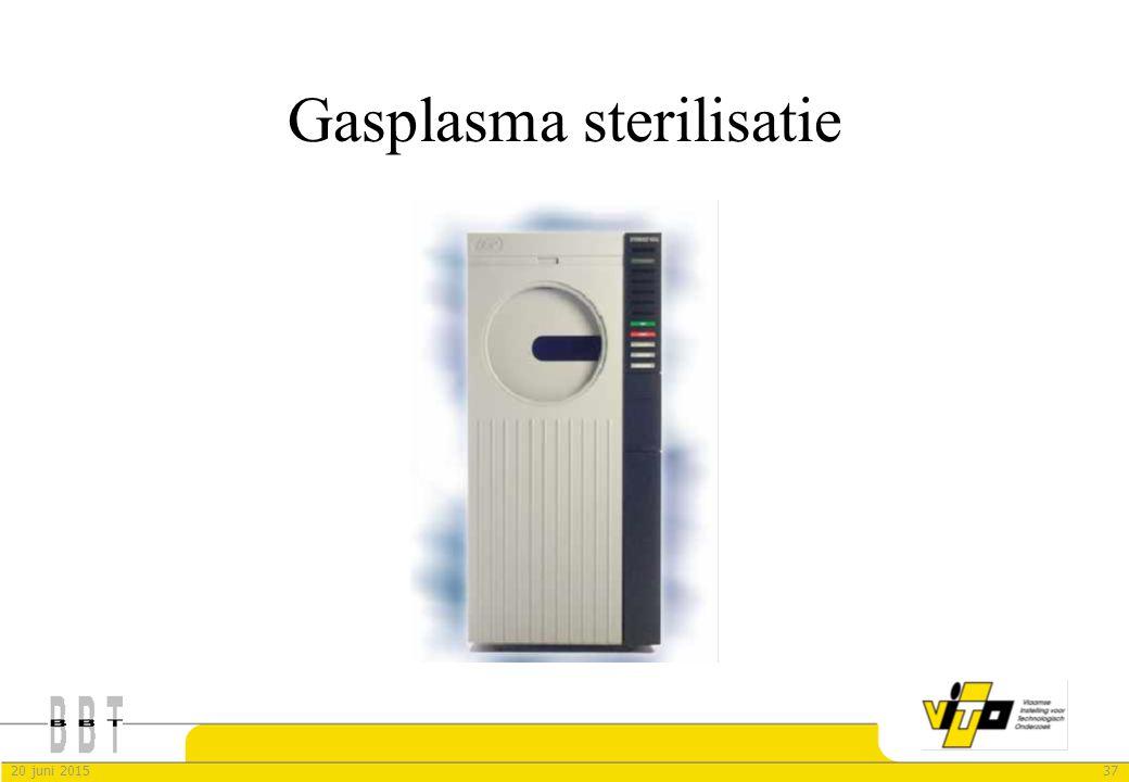 Gasplasma sterilisatie