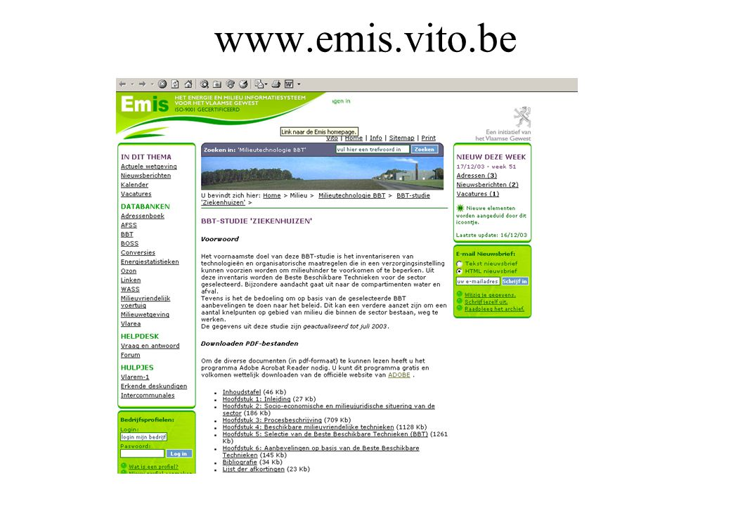 www.emis.vito.be