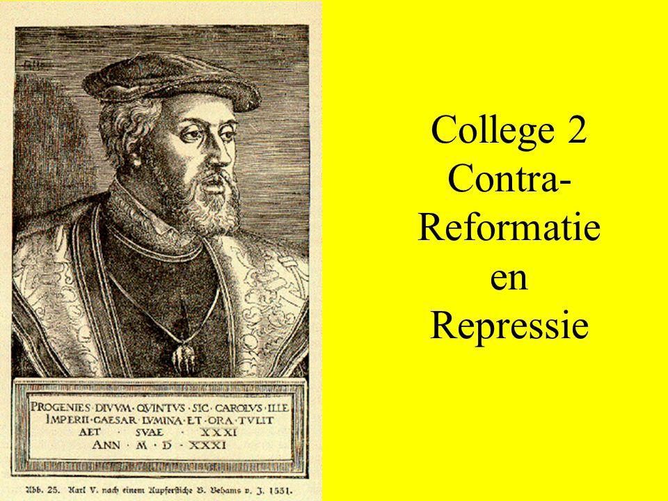 College 2 Contra-Reformatie en Repressie