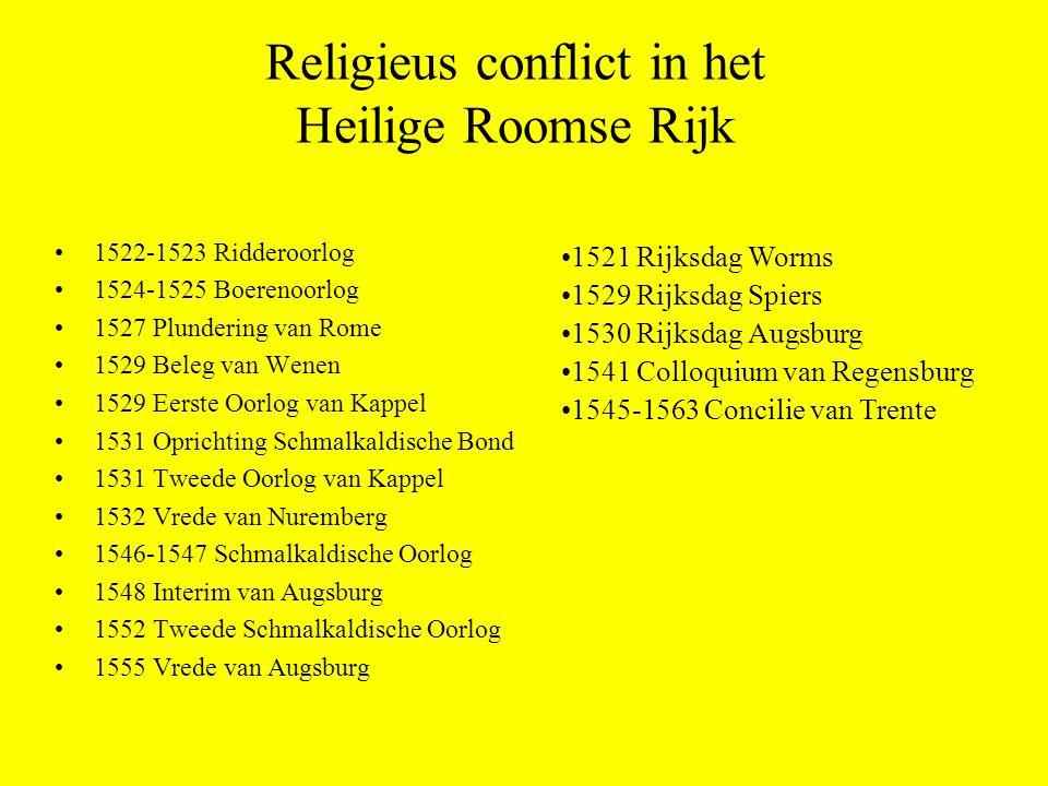 Religieus conflict in het Heilige Roomse Rijk