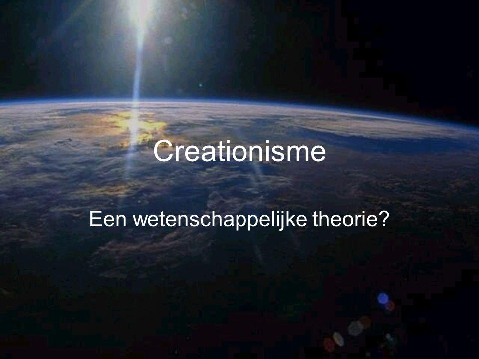 Een wetenschappelijke theorie