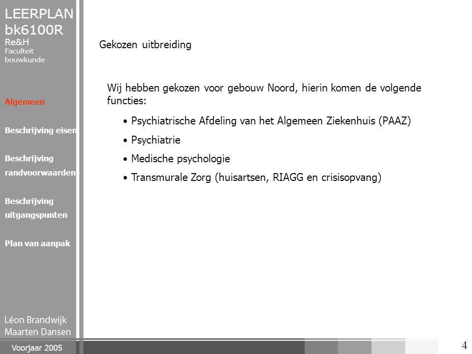 Psychiatrische Afdeling van het Algemeen Ziekenhuis (PAAZ) Psychiatrie